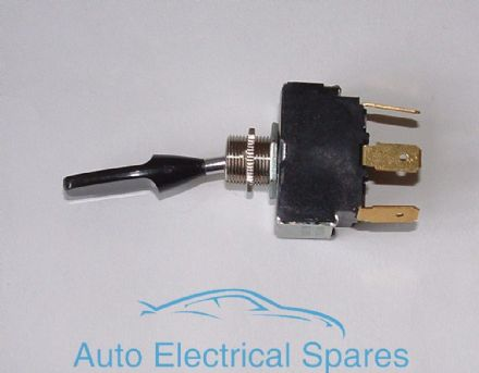C17337 Toggle switch 2 position LONG PADDLE ( change over )